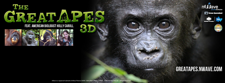 Facebook Cover The great Apes