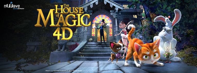 Facebook Cover The house of Magic - nWave