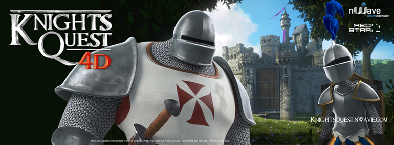 Knights Quest nWave Attraction film - Facebook Cover