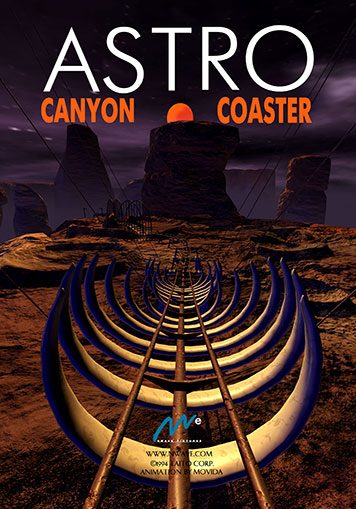 Astro Canyon Coaster