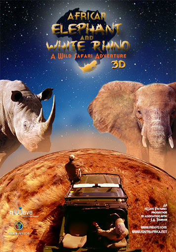 The African Elephant & the White Rhino