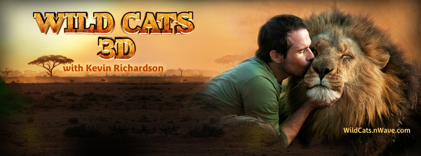 nWave Wild Cats 3D Facebook Cover