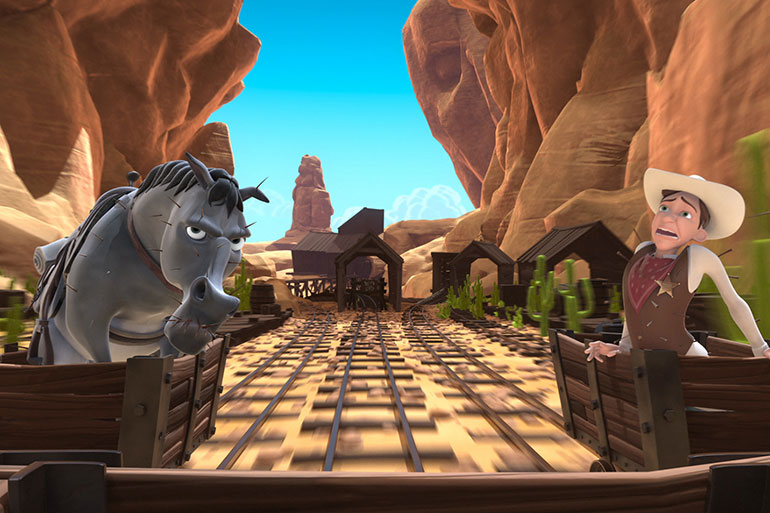 Wild West Mine Ride 3D Still - nWave Film