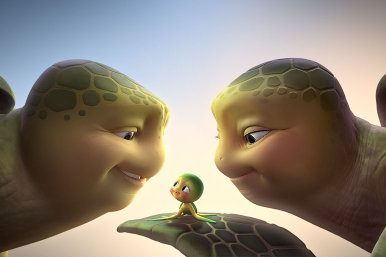 A turtle's Tale 3D - nWave Film