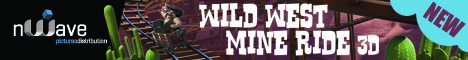 Wild West Mine Ride 3D Banner - nWave Film